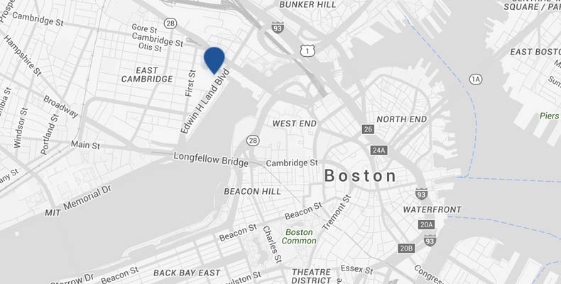 Somerville Zip Code Map.Cambridge Hotel Map Kimpton Marlowe Hotel