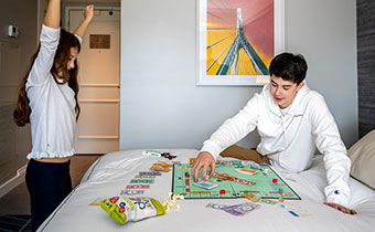 kids playing monopoly